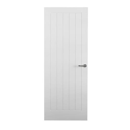 Premdor Interior 5 Panel Fireshield Door 1981 x 838 x 44mm White