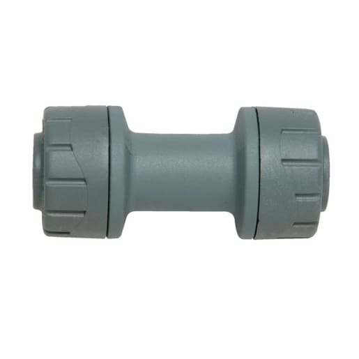 Polypipe PolyPlumb Straight Connector 15mm Grey