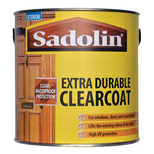 Sadolin Extra Durable Clearcoat 2.5L Clear