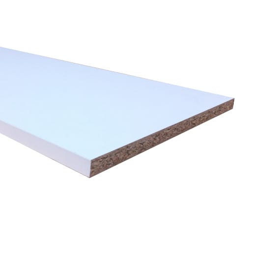 Alexander Cleghorn Melamine Faced Chipboard 2440 x 381 x 15mm White