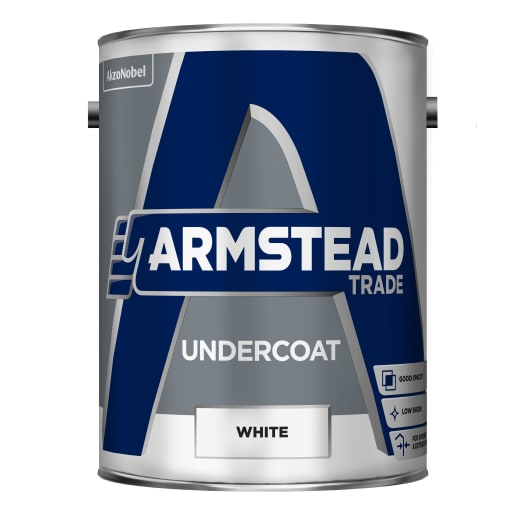 Armstead Trade Undercoat Paint 5L White