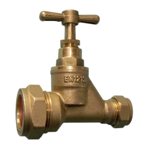 Altech Stopcock 25 x 15mm Brass