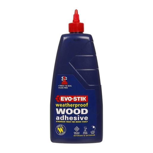 Evo-Stik Resin 'W' Weatherproof Wood Adhesive 1L White
