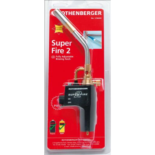 Rothenberger Super-Fire Brazing Torch 330 x 140 x 45mm