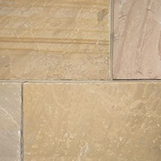 ClassicStone 600 Series Calibrated Limestone Paving Pack Harvest