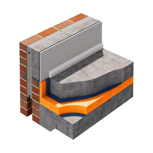 Jablite Jabfloor 70 Floor Insulation 2400 x 1200 x 25mm