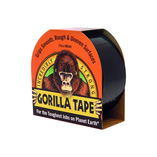 Gorilla Glue Cloth Tape 11m x 48mm Black