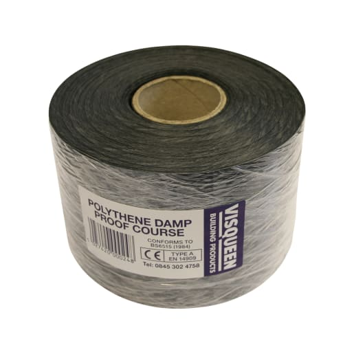 Visqueen Polyethylene Damp Proof Course 30m x 112.50 x 0.5mm
