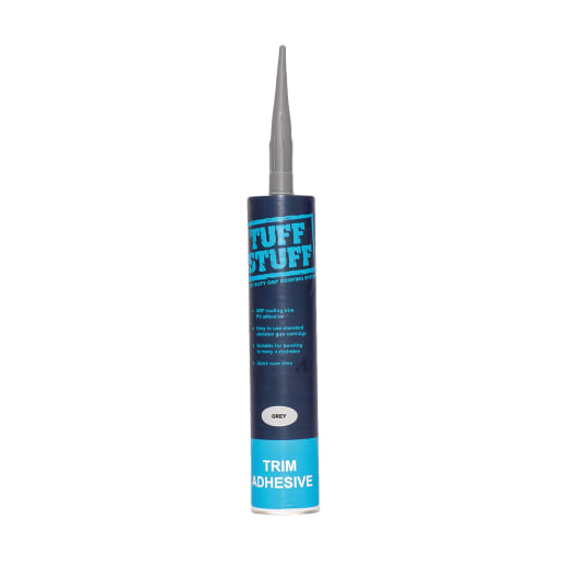 TuffStuff Polyurethane Trim Adhesive 310ml Grey Box of 12