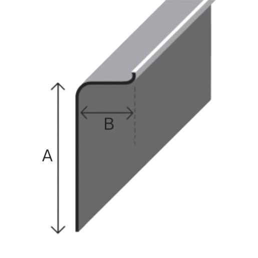 TuffStuff C100 Simulated Lead Flashing 3M x 100mm x 30mm Black