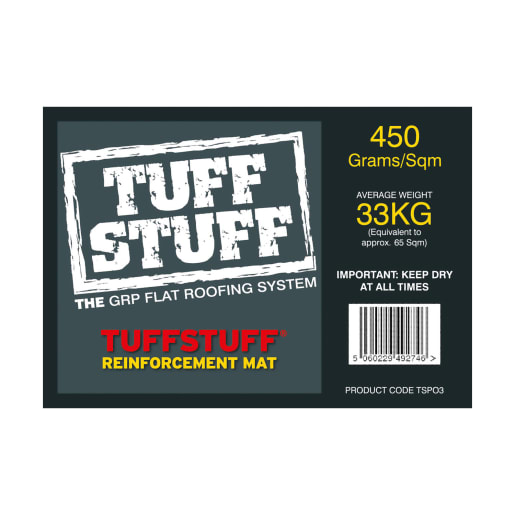 TuffStuff 450gsm Reinforcing Mat 33kg White