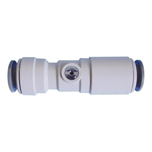 JG Speedfit Plastic Service Valve 15mm White