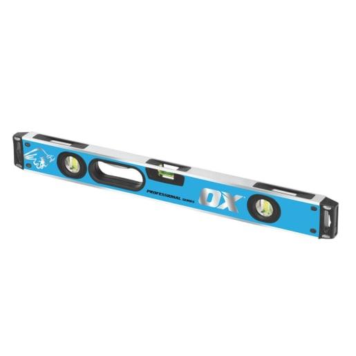 Ox Pro Magnetic Spirit Level 2000mm Blue K36N37K4:K35K4:K36