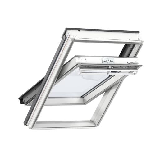 VELUX GGL PK08 2070 White Painted Centre Pivot Roof Window 94 x 140cm
