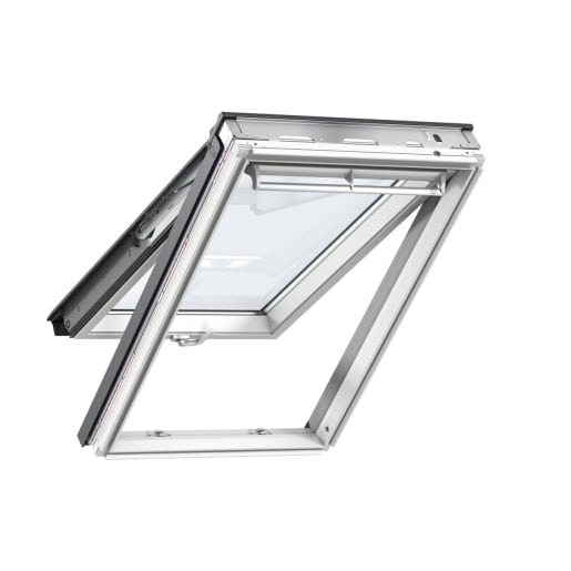 VELUX GPL MK06 2070 White Painted Top Hung Roof Window 78 x 118cm
