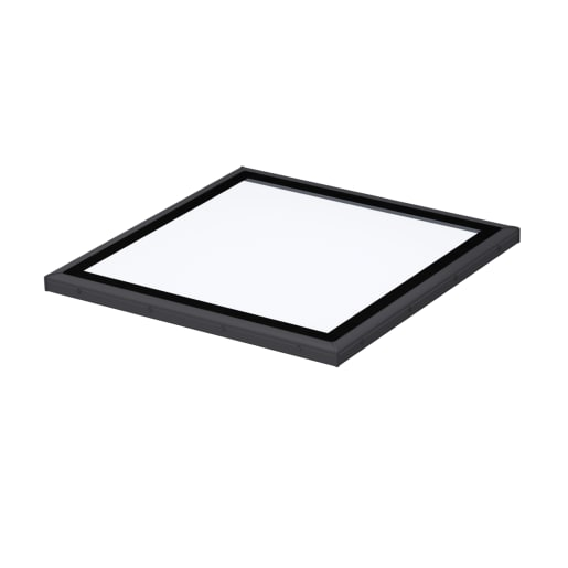 VELUX Flat Glass Top Cover Clear 100 x 100cm