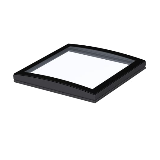 VELUX Curved Glass Top Cover Clear 100 x 100cm Clear