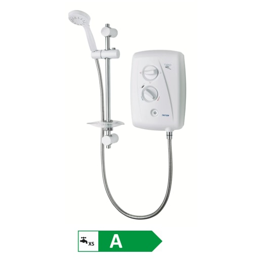 Triton T80Z Fast-fit Electric Shower  8.5kW White