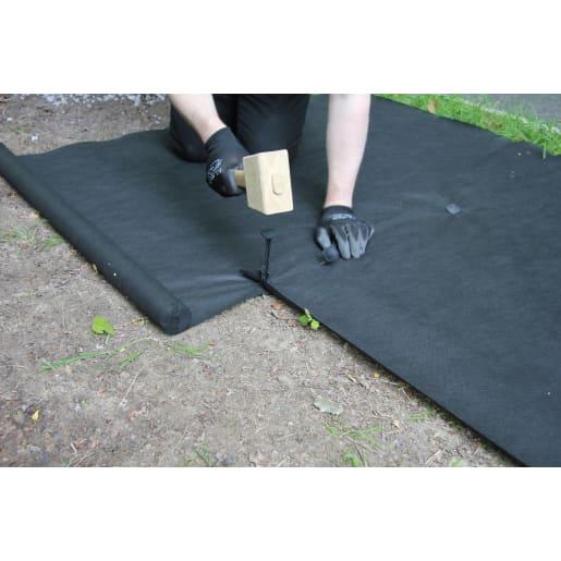 Weedtex Weed Control Fabric 1 x 15m Black