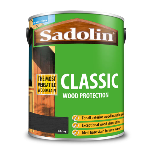 Sadolin Classic Wood Protection 5L Ebony