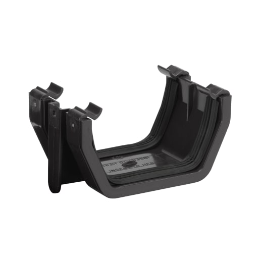 Polypipe Square Union Bracket 112mm Black