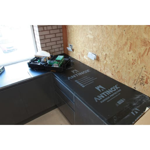 Antinox Surface Protection Board 1.2m x 600mm Black