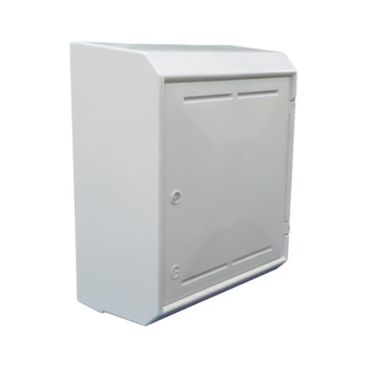 Mitras MK2 Surface Mount Gas Meter Box 503 x 408 x 224mm White