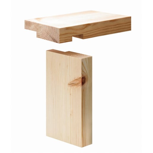 PEFC Redwood Casing Set 38 x 138 (act size 33 x 132mm)