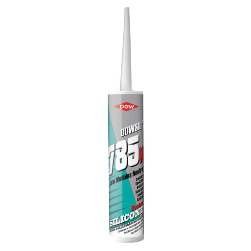 Dow Dowsil 785N Neutral Sanitary Silicone Sealant 310ml White