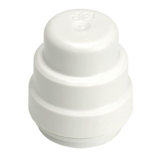 JG Speedfit Stop End Cap 22mm White