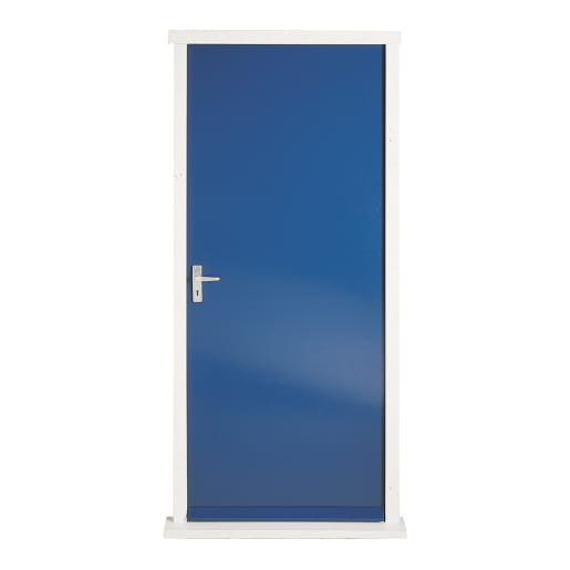 Premdor External F1X Flush Fireshield Door 1981 x 838 x 44mm Blue