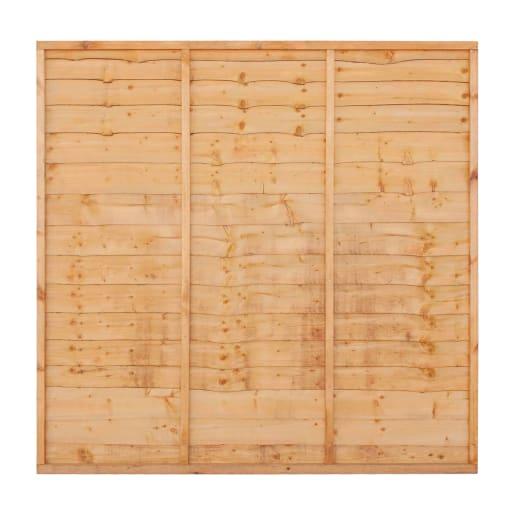 Grange Superior Lap Fence  Panel 0.9 x 1.8m