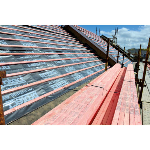 Marley PEFC Treated JB Red Sawn Roofing Batten 25 x 50mm Red