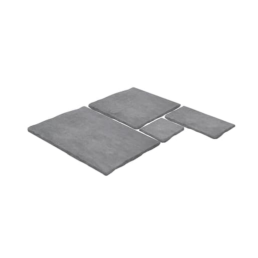 ClassicStone 600 Series Calibrated Limestone Paving Pack Harbour Grey
