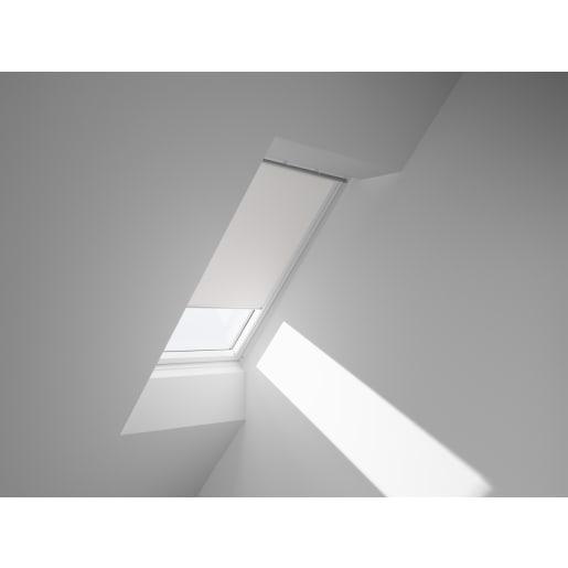 VELUX Manual Blackout Blind 98 x 55cm White