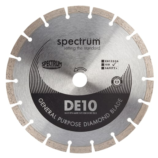 Ox Diamond Spectrum General Purpose Diamond Blade 230 x 22.2mm