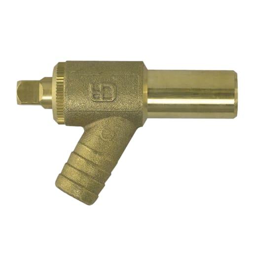 JG Speedfit Drain Cock 15mm Brass