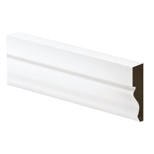 Metsa Wood Ogee Architrave 4400 x 69 x 18mm Primed