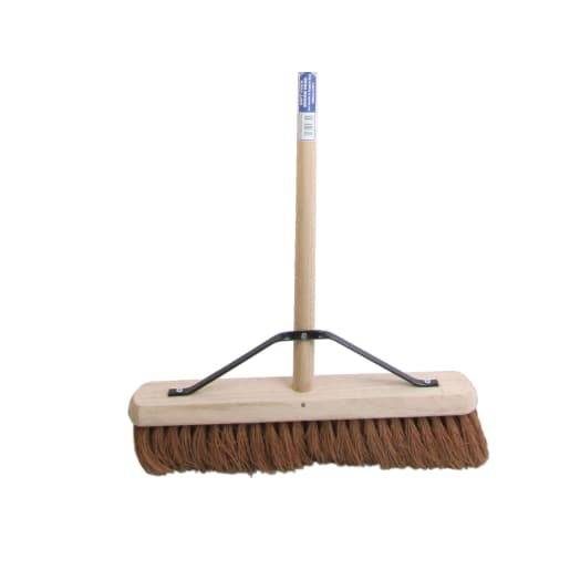 Faithfull Soft Coco Broom With Handle 18