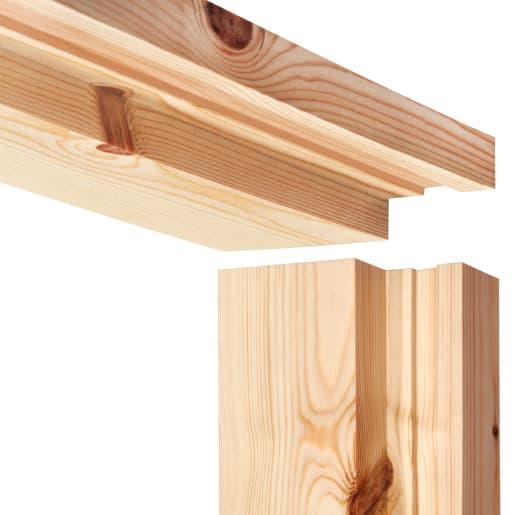 PEFC Redwood Casing Set 38 x 115mm (Act Size 33 x 145mm) Natural