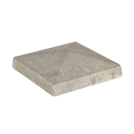 Supreme Concrete 4 Way Weathered Pier Cap 530 x 530mm Grey