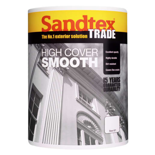 Sandtex High Cover Smooth Paint 5L Base