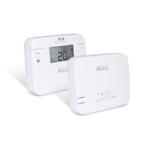 Salus RT510RF+ 7 Day Programmable Digital Wireless Thermostat with LCD
