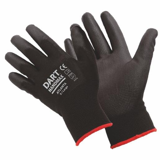 DART Handmax Atlanta Black PU Glove Size XL (10)
