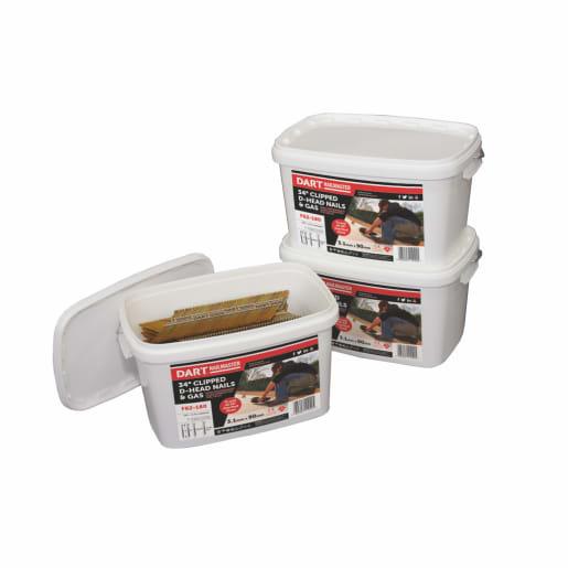 Dart Nailmaster Nails & Gas Bucket 90 x 3.1mm Galvanised