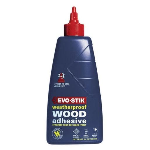Evo-Stik Weatherproof Wood Adhesive 250ml Blue
