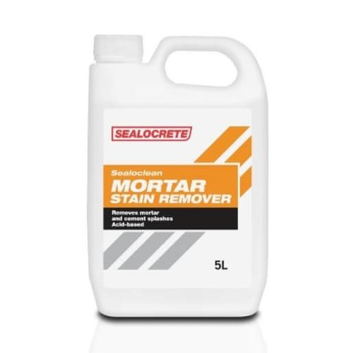 Sealocrete Sealoclean Mortar Stain Remover 5L Yellow