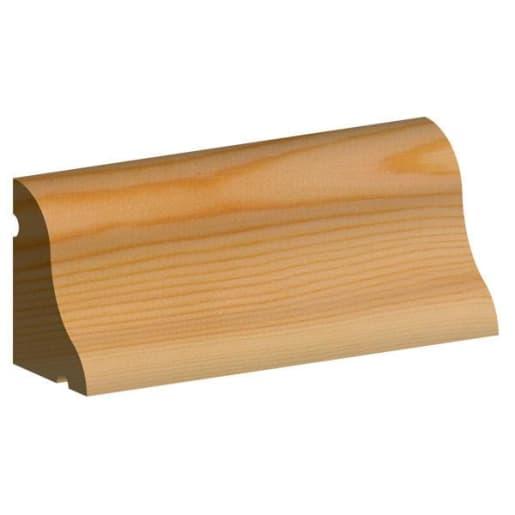 PEFC Redwood Door Weathermould 50 x 75mm (Act Size 44 x 70mm)