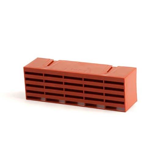 Timloc Plastic Airbrick 215 x 60 x 69mm Terracotta