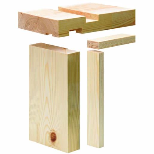 PEFC Whitewood Lining Set 32 x 115 (act size 27 x 106mm)